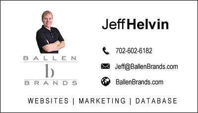 Ballen Brands Business Card